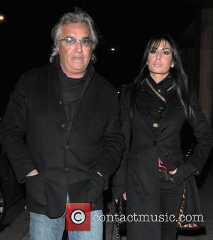 Flavio Briatore and his girlfiend Elisabetta Gregoraci arriving to Cipriani restaurant London, England - 11.03.08