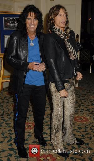 Alice Cooper and Steven Tyler