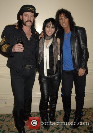 Lemmy, Joan Jett and Alice Cooper,  Classic Rock Roll Of Honour Awards 2007 London, England - 05.11.07