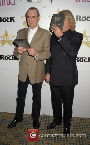 Status Quo,  Classic Rock Roll Of Honour Awards 2007- Press Room London, England - 05.11.07
