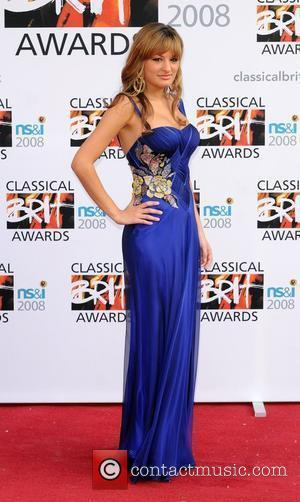 Nicola Benedetti The Classical Brit Awards 2008 held at the Royal Albert Hall - Arrivals London, England - 08.05.08
