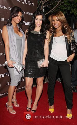 Carla DiBello and Kim Kardashian