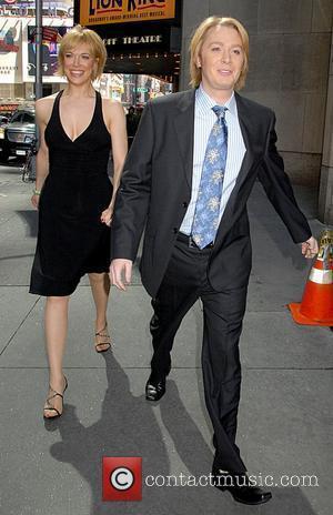 Clay Aiken and Friend
