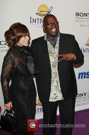 Paula Abdul and Randy Jackson