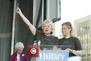 Caroline Rhea at the launch of Club 44, Hillary Clinton's bid for the 44th president campaign Washington DC, USA -...