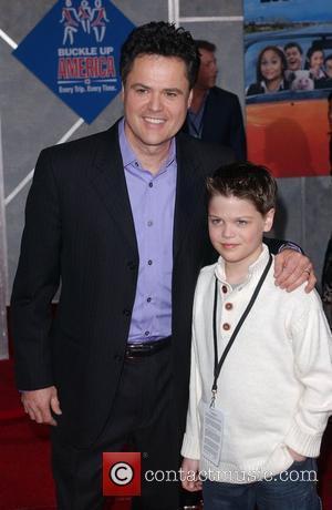 Donny Osmond and Son Joshua Davis Osmond