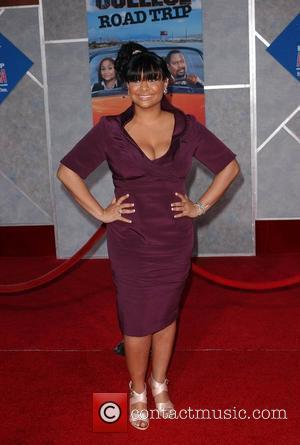 Raven Symone  Premiere of 'College Road Trip' held at El Capitan Theater - Arrivals Hollywood, California - 03.03.08