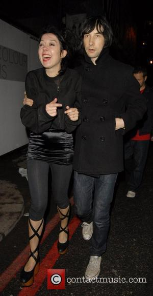 Bobby Gillespie and Davinia Taylor