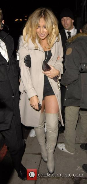 Jenny Frost leaving Davinia Taylor's brithday party held at The Colour Rooms London, England - 17.11.07