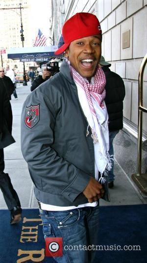 Columbus Short arriving at his hotel New York City, USA - 08.04.08