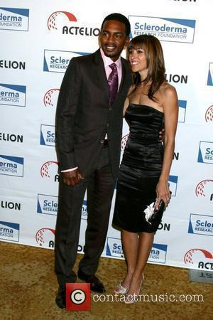 Bill Bellamy and Guest Scleroderma Research Foundation's 2008 Cool Comedy - Hot Cuisine Event held at the Beverly Wilshire-Four Season's...