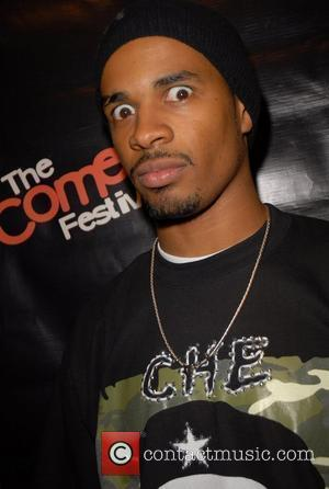 Damon Wayans Jr poses backstage at the Caesars Palace Comedy Festival Las Vegas, Nevada - 16.11.07