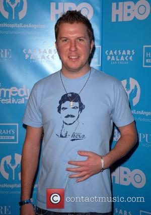 Nick Swardson attends the Comedy Cares Celebrity Poker Tournament at PURE nightclub inside Caesars Palace Las Vegas, Nevada - 16.11.07