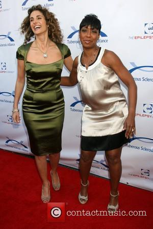 Melina Kanakaredes & Tichina Arnold 7th Annual Comedy for a Cure - Benefiting The Tuberous Sclerosis Alliance Los Angeles, California...