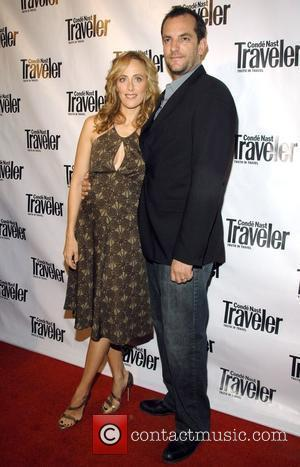 Kim Raver and Guest Conde Nast Traveler 8th Annual Hot List Party at Mansion - arrivals New York City, USA...