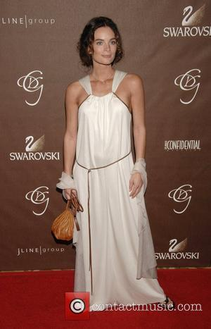 Gabrielle Anwar 10th Annual Costume Designers Guild Awards at the Beverly Wilshire Hotel - arrivals Los Angeles, California - 19.02.08