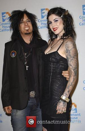 Nikki Sixx and Kat Von D 9th Annual Covenant With Youth Awards Gala at the Beverly Hills Hotel Los Angeles,...