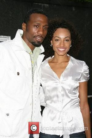 Leon Robinson, Ebony Jones New York Premiere of 'Crazy Love' held at the Beekman Theatre New York City, USA -...