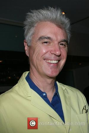 David Byrne Creative Time at Guastavino's New York City, USA - 23.04.08