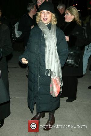Carol Kane attending the Opening Night of the play 'Crimes of the Heart' at the Laura Pels Theatre. New York...