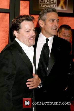 Eddie Izzard and George Clooney