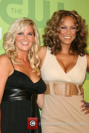 Tyra Banks and Whitney Thompson