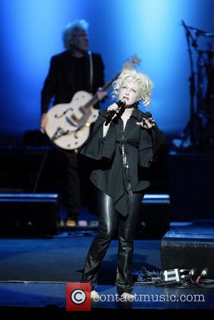 Cyndi Lauper  performing live in concert at the State Theatre Sydney, Australia - 28.02.08