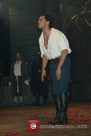 Daniel Sunjata Opening Night Performance of 'Cryano de Bergerac' at the Richard Rodgers Theatre - Curtain Call New York City,...