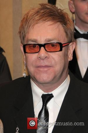 Sir Elton John Thierry Henry Cystic Fibrosis 'Liv' charity dinner hosted by David Beckham held at the Dorcester - Arrivals...