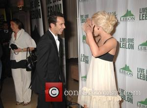 Helio Castroneves and Julianne Hough