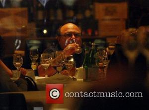 Danny DeVito  having dinner with his family at Bocca di Bacco restaurant Berlin, Germany - 08.10.07