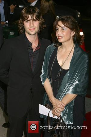 Robert Schwartzman and Talia Shire