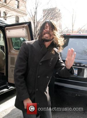 Dave Grohl, David Letterman and Foo Fighters