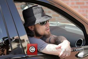 Dave Navarro leaving after doing an interview at Peet's Coffee & Tea in Beverly Hills Los Angeles, California - 31.03.08