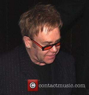 British Protesters Object To Elton John's Language