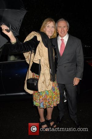 Jackie Stewart,  arrives at Sir David Frosts Summer Party London, England - 05.07.07