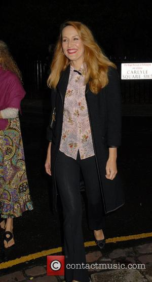 Jerry Hall, Sir David Frosts Summer Party