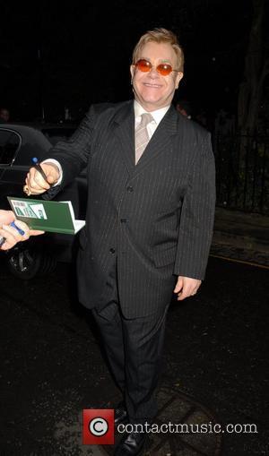 Sir David Frosts Summer Party, Elton John