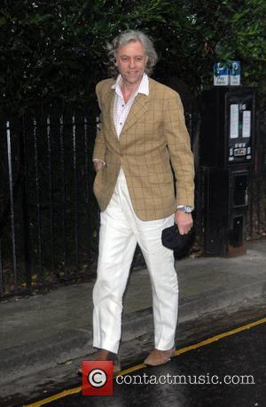 Geldof's Relief After Bike Crash