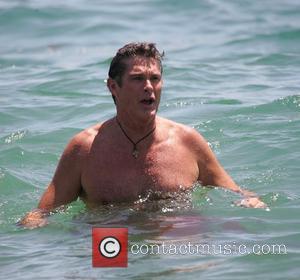 David Hasselhoff and Surfing