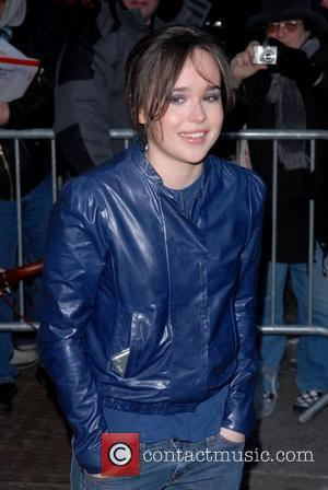 Ellen Page  outside the Ed Sullivan Theater for the 'Late Show with David Letterman'  New York City, USA...