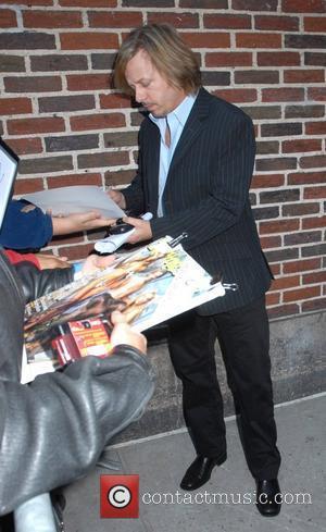 David Spade and David Letterman