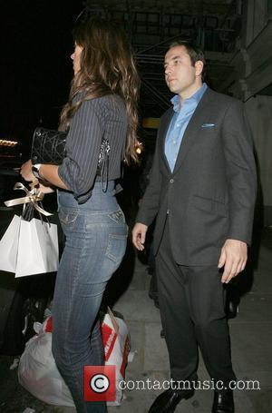 David Walliams leaves Automat restaurant at 1.30am with a mystery woman London, England - 28.09.07