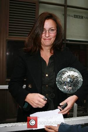 Davina McCall Leaving BBC Radio One studios. She will be presenting Big Brother 8 which starts tonight London, England -...
