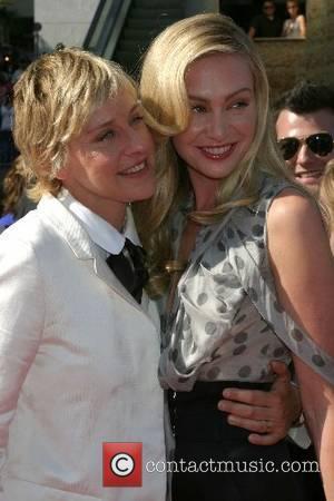 Ellen DeGeneres & Portia De Rossi 34th Annual Daytime Emmy Awards - Arrivals Kodak Theater Hollywood, California - 15.06.07