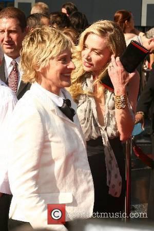 Ellen DeGeneres and Portia de Rossi 34th Annual Daytime Emmy Awards - Arrivals held at Kodak Theatre Hollywood, California USA...