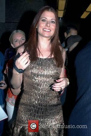 Debra Messing outside NBC Studios after an appearance on the 'Late Night with Conan O'Brien' show New York City, USA...
