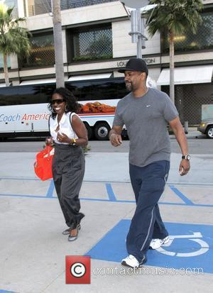 Denzel Washington and His Wife Pauletta Washington