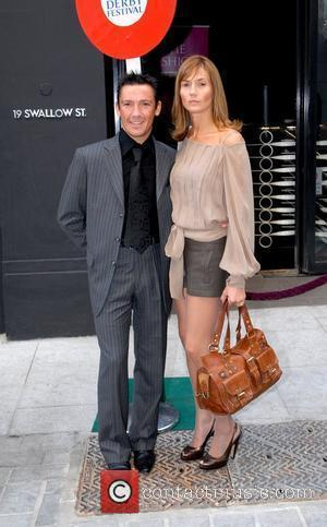 Frankie Dettori and his wife Catherine Dettori Attend the launch party for The Derby Festival - Arrivals London, England -...