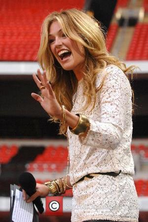 Cat Deeley The Concert for Diana at Wembley Stadium  London, England - 01.07.07
